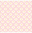 Seamless floral pattern with chamomiles vector image