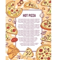 Pizza banner or flyer Good as a template of vector image