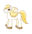 cute horse royal pony vector image