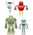 robots vector image