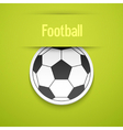 Football sticker vector image vector image