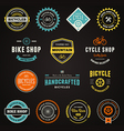 Bike graphics vector image