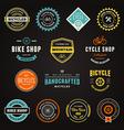 Bike graphics vector image
