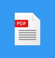 pdf document pdf file format vector image