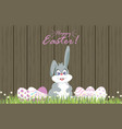 easter eggs for decoration3 vector image