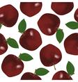 seamless fruits vector image