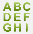 Alphabet Set vector image