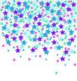 confetti stars vector image vector image