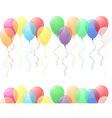 balloons 03 vector image