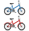 children bikes vector image
