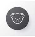 koala icon symbol premium quality isolated vector image