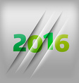 Numbers Background 2016 vector image