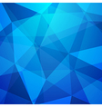 Abstract crystal background low poly texture vector image