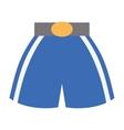boxing shorts uniform isolated icon vector image