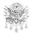 Ottoman Empire vector image