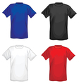 t-shirts vector image