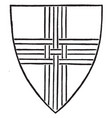 cross tri-parted is a form of triathlon vintage vector image