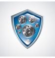 Shield icon Security design graphic vector image