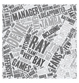 Tampa Bay Devil Rays Preview text background vector image