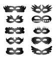 Set of Mask Icons vector image