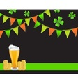 Background St Patricks Day vector image