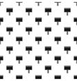 Blank billboard pattern simple style vector image