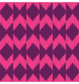 Chevron ikat seamless pattern vector image
