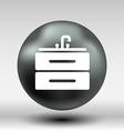 Kitchenware sink basin icon button logo symbol vector image