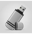USB stick vector image