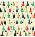 seamless pattern colorful geometric vector image