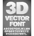 3D font vector image