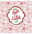 ChristmasNatale cardPattern backgroundlabel vector image