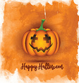 watercolor halloween background 0509 vector image