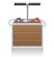 Detonating fuse vector image