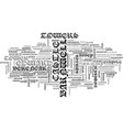 Barnwell castle text word cloud concept vector image