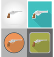 wild west flat icons 10 vector image vector image