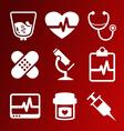 IconsMedicine vector image
