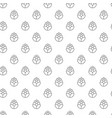 unique digital hops seamless pattern with various vector image
