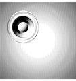 sound-system speaker halftone in black and white vector image