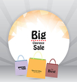 Sale Tag Price Background vector image