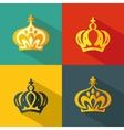 Crown vector image