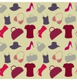 womens Accessories seamless pattern vector image