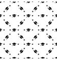 student cap graduation hat icon seamless pattern vector image