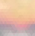 Retro mosaic pattern vector image vector image
