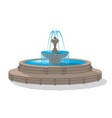 Fountain vector image vector image