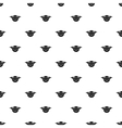 Bat and moon pattern simple style vector image