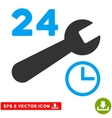 Service Hours Eps Icon vector image