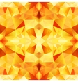 Orange crystal abstract seamless pattern vector image vector image