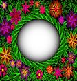Retro Pattern Frame vector image vector image