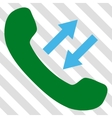Phone Talking Icon vector image